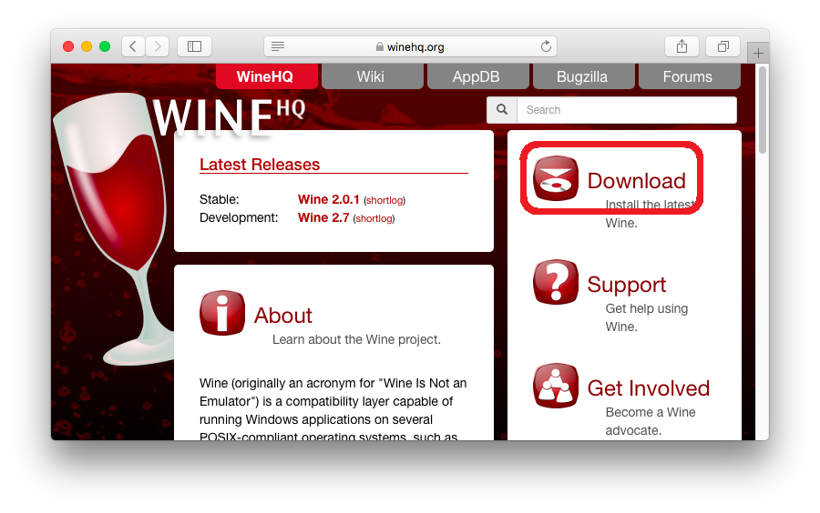 Wineを用いてMacでGRCを利用する方法